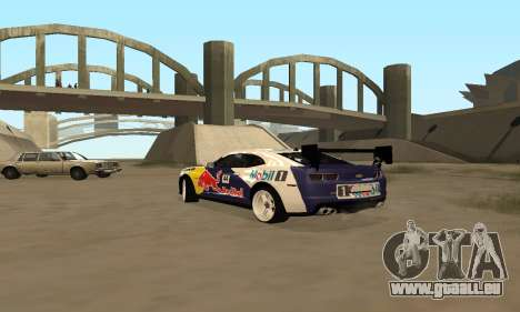 Chevrolet Camaro ZL1 RedBull für GTA San Andreas linke Ansicht