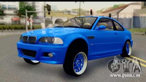 BMW M3 Stance pour GTA San Andreas