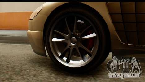 GTA 5 Ocelot F620 v2 pour GTA San Andreas sur la vue arrière gauche