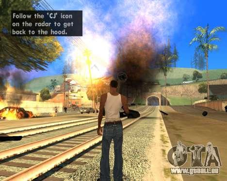 Effect Mod 2014 By Sombo pour GTA San Andreas deuxième écran