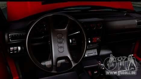 Audi Sport Quattro B2 (Typ 85Q) 1983 [IVF] pour GTA San Andreas vue de côté