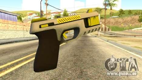 Stun Gun from GTA 5 für GTA San Andreas zweiten Screenshot