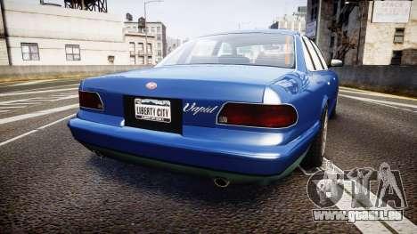 Vapid Stanier Civilian pour GTA 4 Vue arrière de la gauche