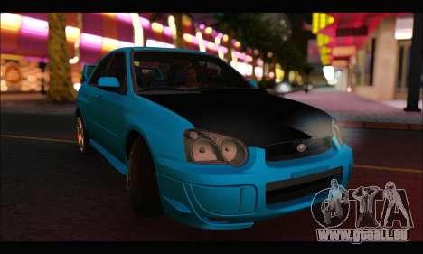 Subaru Impreza WRX STI Tuning pour GTA San Andreas