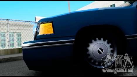Elegant Station Wagon pour GTA San Andreas vue arrière