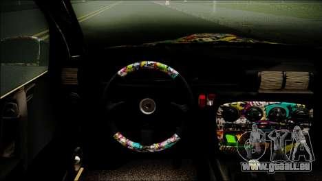 Opel Omega RAT pour GTA San Andreas sur la vue arrière gauche