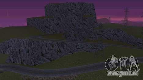 Verdir le désert pour GTA San Andreas deuxième écran