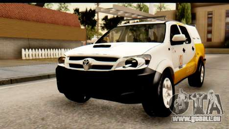 Toyota Hilux Meraclo Utility 2010 für GTA San Andreas