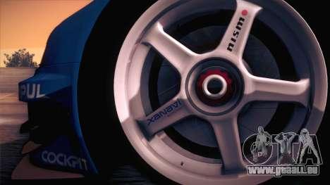 Nissan Skyline GTR-34 2003 für GTA San Andreas rechten Ansicht