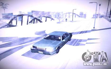 Sunny 2 ENBSeries pour GTA San Andreas quatrième écran