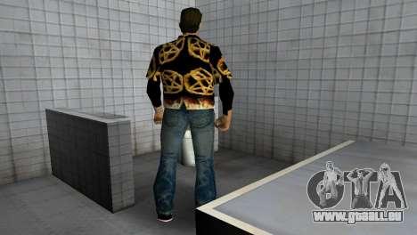 Pentagram Shirt für GTA Vice City fünften Screenshot