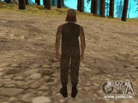 Cletus Ewing de GTA V pour GTA San Andreas deuxième écran