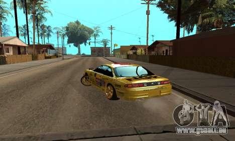 Nissan Silvia S14 NGK pour GTA San Andreas laissé vue