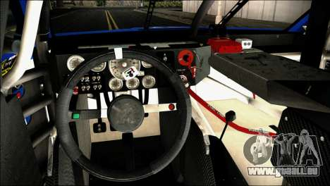 Chevrolet SS NASCAR Sprint Cup Series 2013-2014 pour GTA San Andreas vue de droite