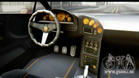 GTA 5 Pegassi Zentorno pour GTA San Andreas vue arrière