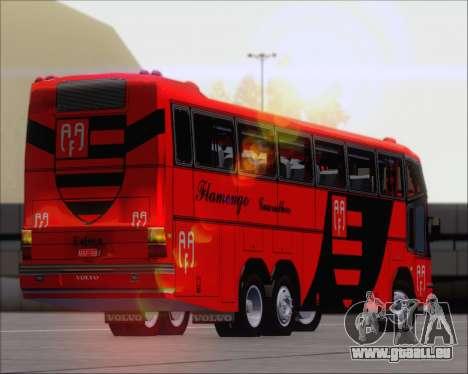 Marcopolo Paradiso G4 Flamengo Guarulhos pour GTA San Andreas vue intérieure