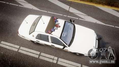 Ford Crown Victoria LCSO [ELS] Vision pour GTA 4 est un droit