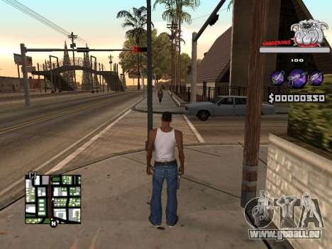 C-HUD by Sorel für GTA San Andreas dritten Screenshot