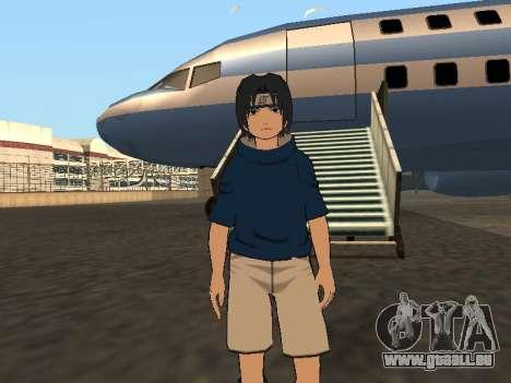 Sasuke Uchiha pour GTA San Andreas deuxième écran