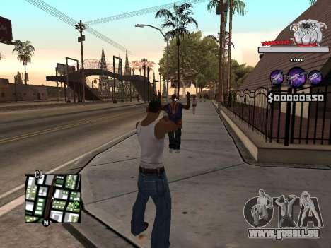 C-HUD by Sorel für GTA San Andreas her Screenshot