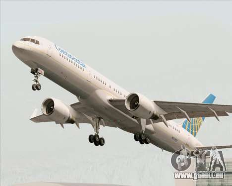 Boeing 757-200 Continental Airlines pour GTA San Andreas roue