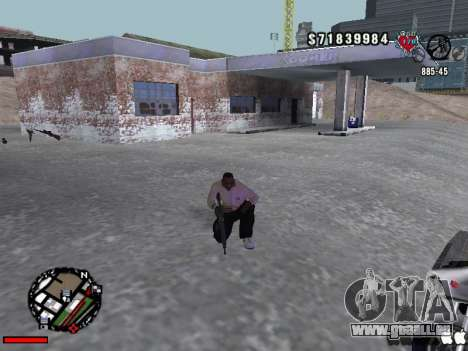 C-Hud OLD pour GTA San Andreas