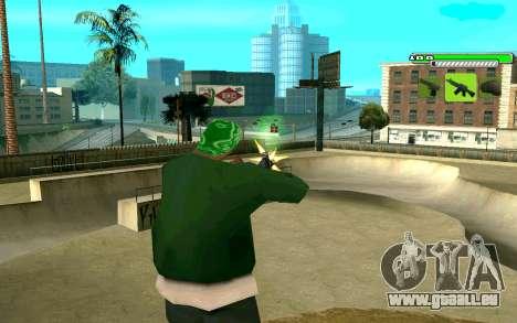 C-HUD Greny pour GTA San Andreas deuxième écran