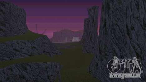 Verdir le désert pour GTA San Andreas troisième écran