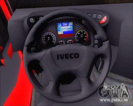 Iveco Stralis HiWay 8x4 pour GTA San Andreas vue de dessous