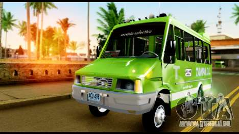 Iveco Minibus pour GTA San Andreas vue de droite