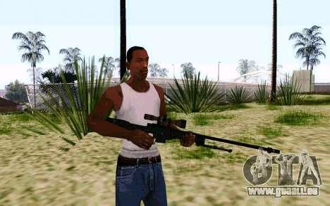 AWP L96A1 (Dodgers) für GTA San Andreas zweiten Screenshot