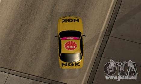 Nissan Silvia S14 NGK für GTA San Andreas Rückansicht