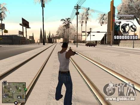 C-HUD Laden für GTA San Andreas dritten Screenshot