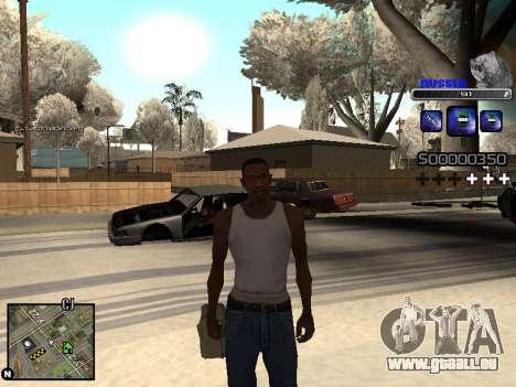 C-HUD Russia pour GTA San Andreas cinquième écran