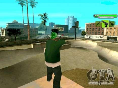 C-HUD Greny pour GTA San Andreas troisième écran