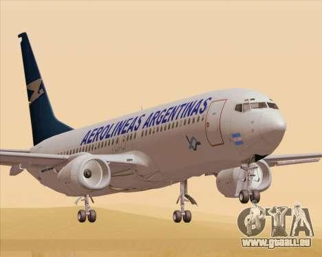 Boeing 737-800 Aerolineas Argentinas für GTA San Andreas
