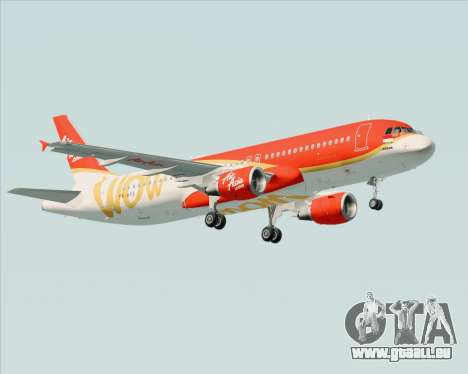 Airbus A320-200 Indonesia AirAsia WOW Livery pour GTA San Andreas salon