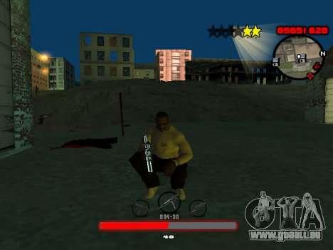 C-HUD by SantiManti pour GTA San Andreas deuxième écran