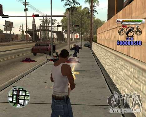C-HUD by Adam pour GTA San Andreas troisième écran