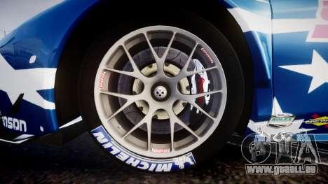Ferrari 458 GT2 Stevenson Racing für GTA 4 Rückansicht