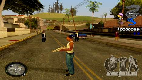 C-HUD Dragon für GTA San Andreas fünften Screenshot