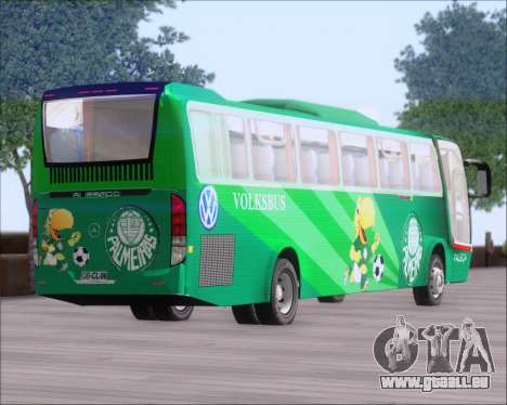 Busscar Vissta Buss LO Palmeiras für GTA San Andreas Seitenansicht