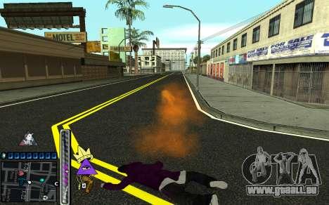 C-HUD Lite SWAG pour GTA San Andreas sixième écran