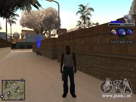 C-HUD Russia pour GTA San Andreas