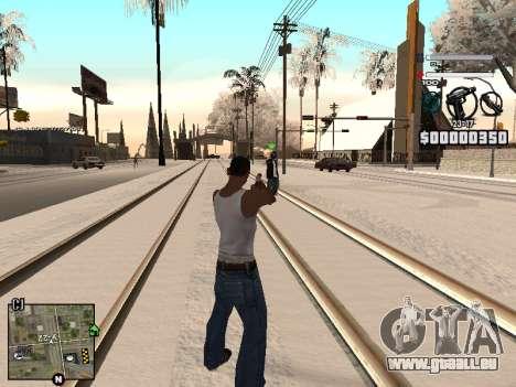 C-HUD Laden für GTA San Andreas zweiten Screenshot