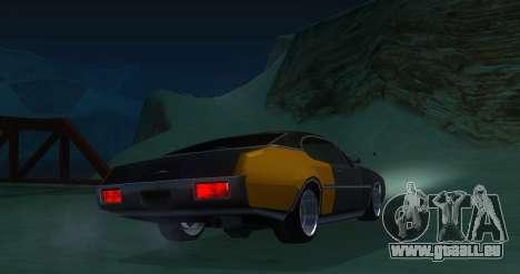 Clover JDM pour GTA San Andreas sur la vue arrière gauche