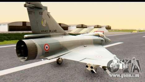 Dassault Mirage 2000-5 für GTA San Andreas linke Ansicht