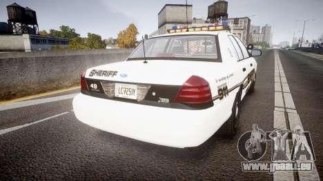 Ford Crown Victoria LCSO [ELS] Vision für GTA 4