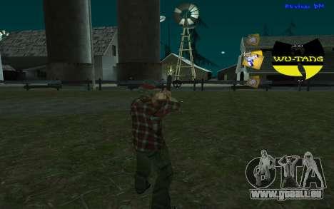C-HUD Wu-Tang pour GTA San Andreas deuxième écran