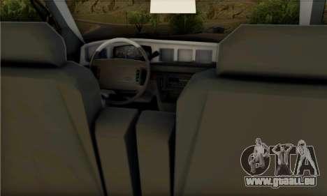 Ford Crown Victoria NYPD Blue pour GTA San Andreas vue de droite